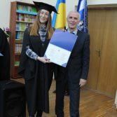 Свято вручення дипломів випускникам магістрам. Фото №13.
