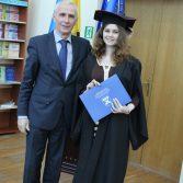 Свято вручення дипломів випускникам магістрам. Фото №14.