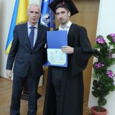 Свято вручення дипломів випускникам магістрам. Фото №15.