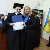 Свято вручення дипломів випускникам магістрам. Фото №18.