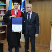 Свято вручення дипломів випускникам магістрам. Фото №28.