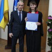 Свято вручення дипломів випускникам магістрам. Фото №29.