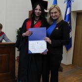 Свято вручення дипломів випускникам магістрам. Фото №32.