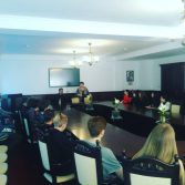 Екскурсія до Академії абітурієнтів з міста Чигирин, Черкаської області. Фото №1.