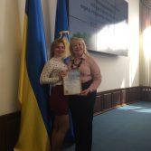 Вітаємо учасницю II етапу Всеукраїнської олімпіади зі спеціальності «Облік і оподаткування». Фото №5.