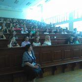 Зустріч студентів Академії зі студентом 3 курсу Страсбурзького університету. Фото №1.