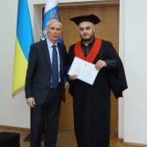 Урочисте вручення дипломів магістрам – випускникам 2020 року.