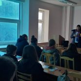 Зустріч студентів 3-го курсу з представниками АТ «Ощадбанк»